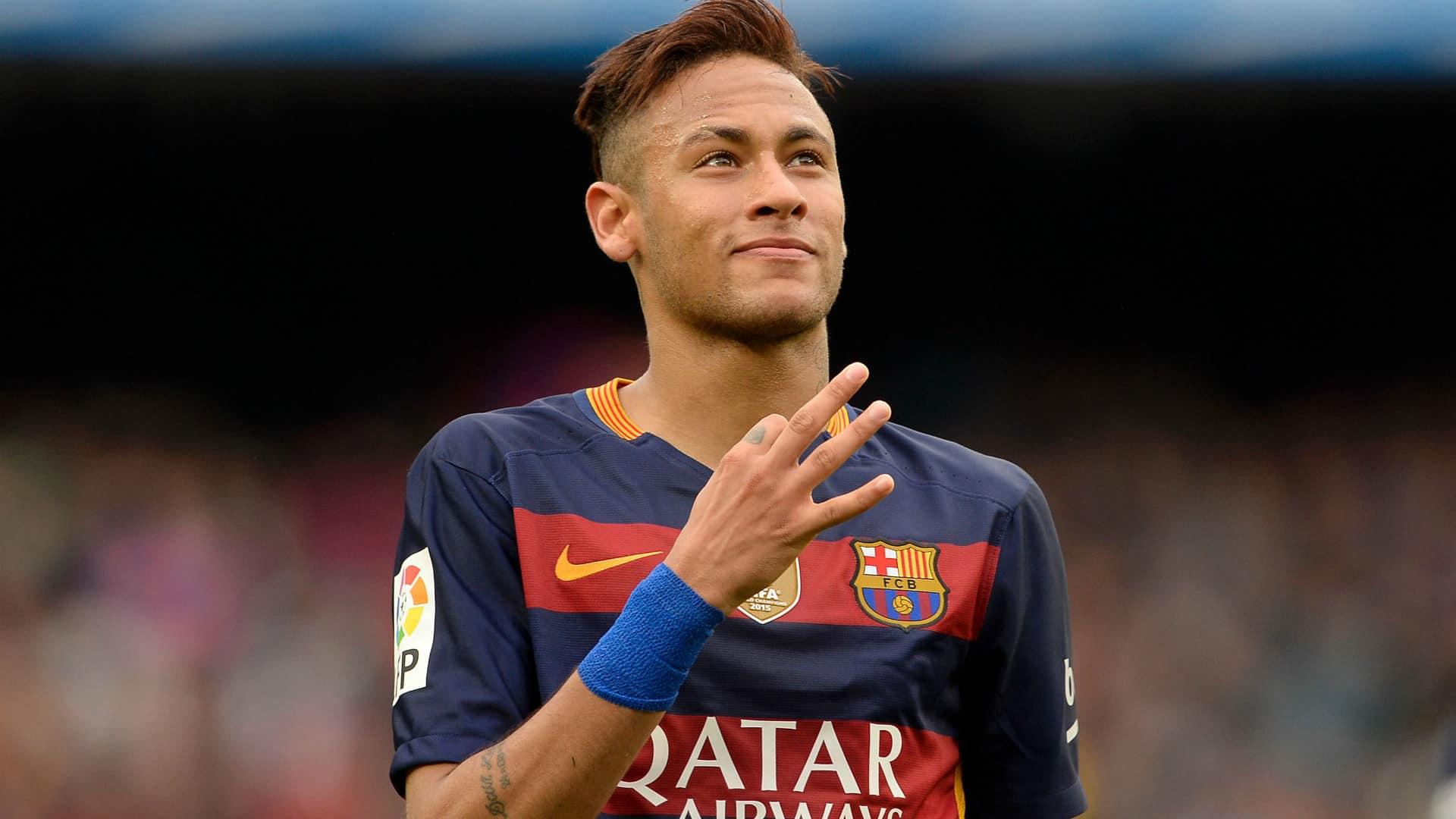La evolución de Neymar