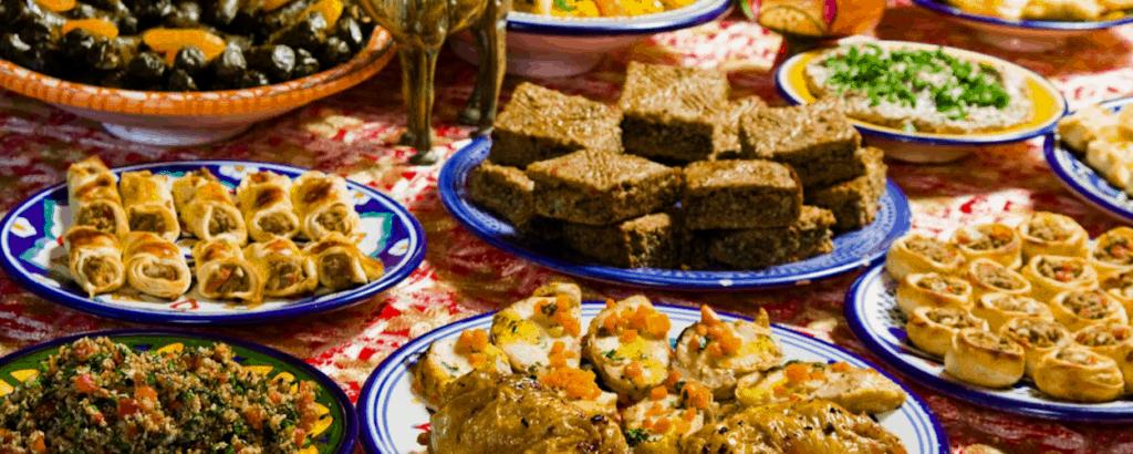 platos arabes