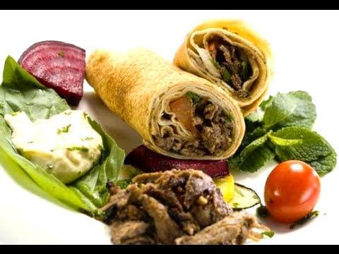 shawarmas arabes