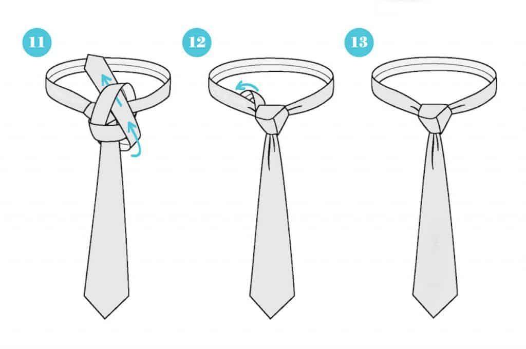 Importancia de hacer el nudo de una corbata